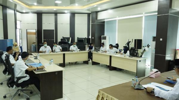 Rapat Penanggulangan dan pencegahan Covid19