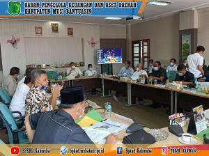 Menghadiri Rapat Panitia Khusus (Pansus) II DPRD Tentang LKPJ Bupati Muba TA 2020